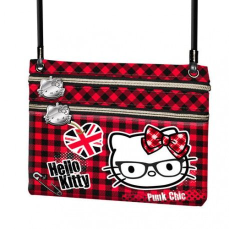 Portofel snur 17x14.5x1cm,Hello Kitty Vicky