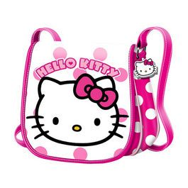 Geanta Muffin 16x16.5x6cm,Hello Kitty Dots