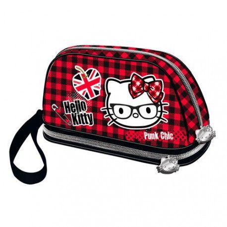 Geanta cosmetice 26x14x9cm,Hello Kitty Vicky
