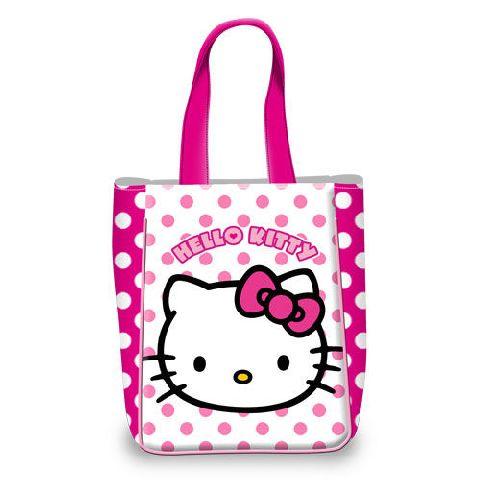 Geanta cumparaturi 30x20x13.5cm,Hello Kitty Dots