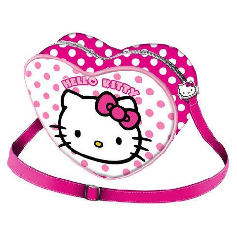 Gentuta inima 19.5x16x7cm,Hello Kitty Dots