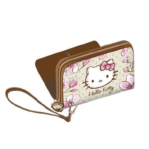 Portofel 12.5x9.5x3cm,Hello Kitty Mognolia