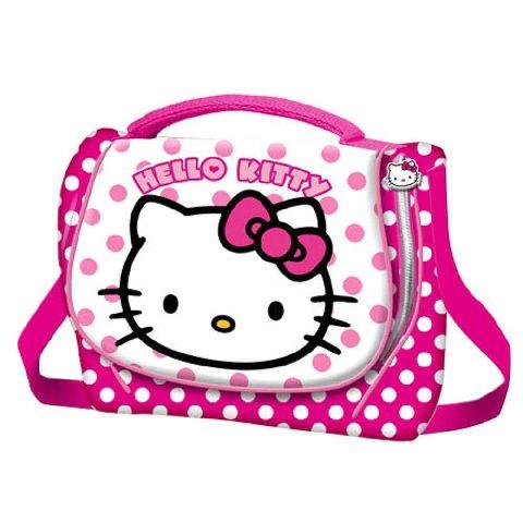 Gentuta pranz 19x24x9.5cm,Hello Kitty Dots