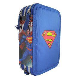 Penar triplu echipat 14x21x7cm,Superman S
