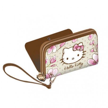Portofel 15x10.5x3cm,Hello Kitty Mognolia