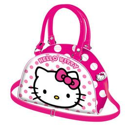 Geanta Bowling 22x15x10cm,Hello Kitty Dots