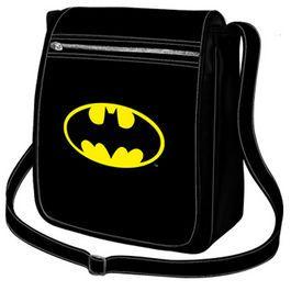 Geanta verticala 21x26x9cm,Batman Batsignal