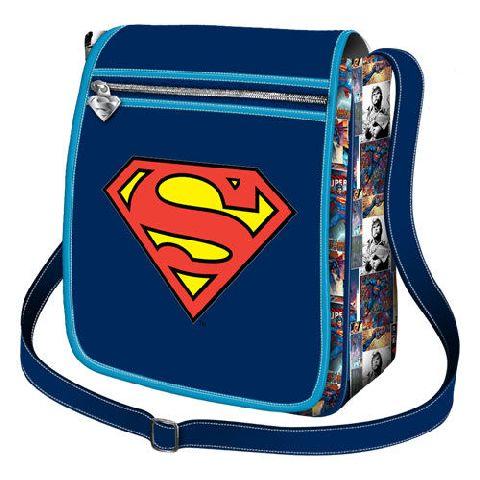 Geanta verticala 21x26x9cm,Superman S