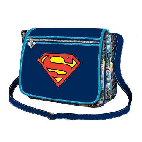 Geanta umar basic 30x21.5x8.5cm,Superman S