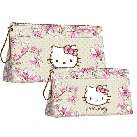 Geanta cosmetice Hello Kitty Mognolia,2buc/set