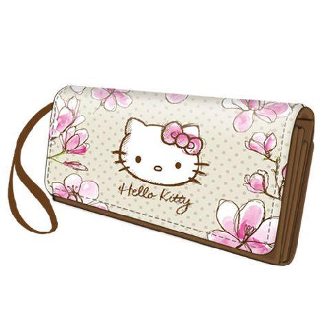 Portofel 20x11x2.5cm,Hello Kitty Mognolia