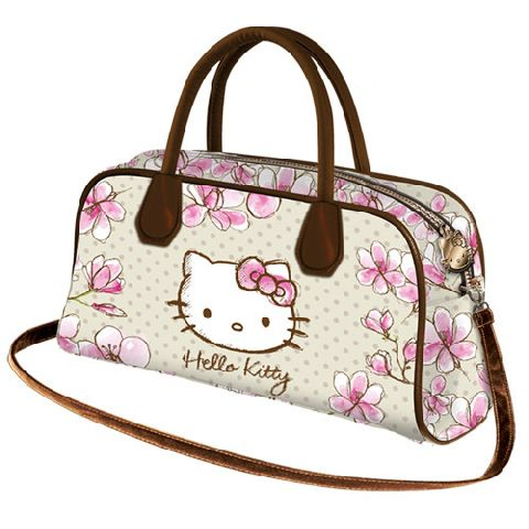 Geanta Biscuit 31x16.5x9cm,Hello Kitty Mognolia