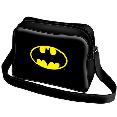 Geanta umar basic 29x21x8cm,Batman Batsignal