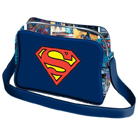 Geanta umar basic 39x29x12cm,Superman S