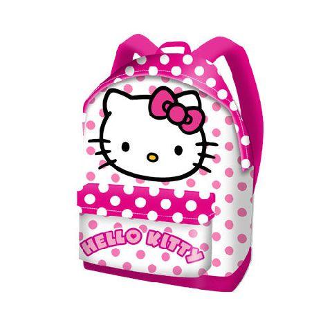 Ghiozdan 35x41x13.5cm,Hello Kitty Dots