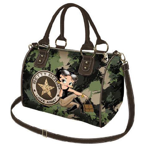 Geanta Chest 25x20x15.5cm,Betty Boop,Army