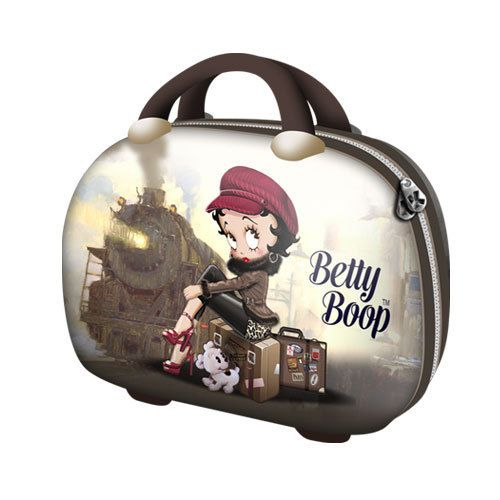 Geanta ABS 30x21x15cm,Betty Boop,Train