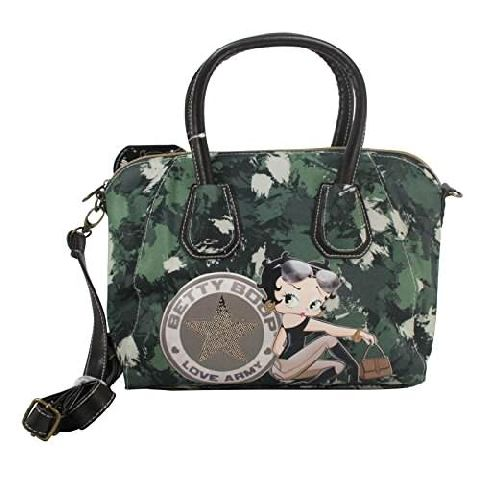 Geanta Tresor 26.5x23.5x14.5cm,Betty Boop,Army