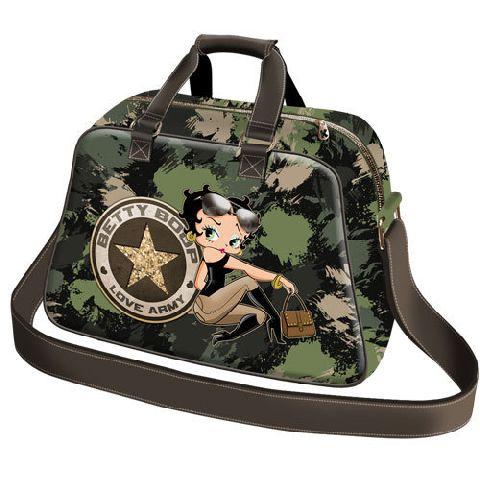 Geanta voiaj 47x30x20cm,Betty Boop,Army