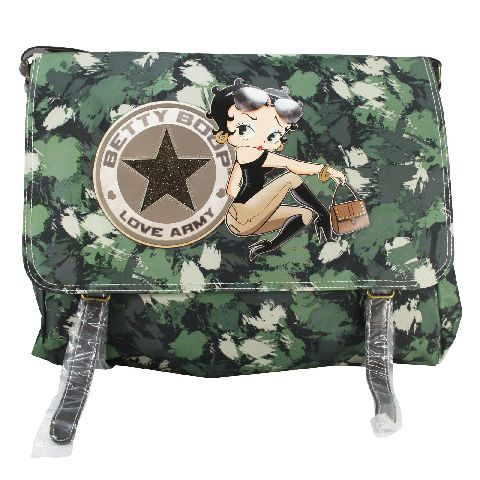 Geanta Venture 37x29x9cm,Betty Boop,Army