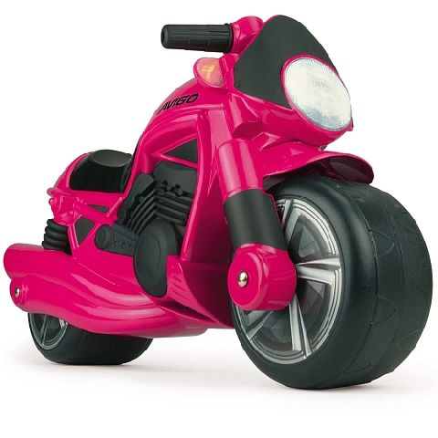 Injusa-Motocicleta fara pedale,Wheeler,roz