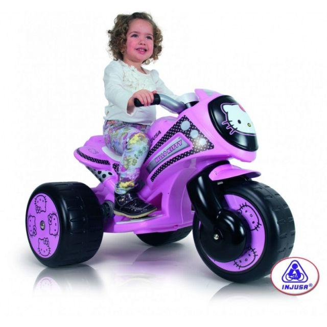 Injusa-Tricicleta electrica,Tribike Hello Kitty,rosu