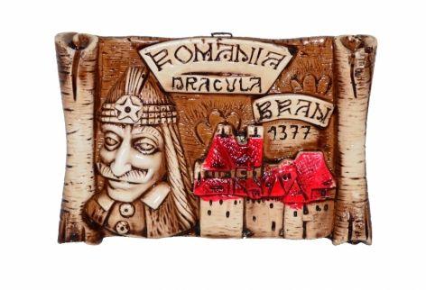 Plachet gips Ramania Dracula Bran, 13cm