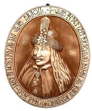 Plachet gips portret Dracula