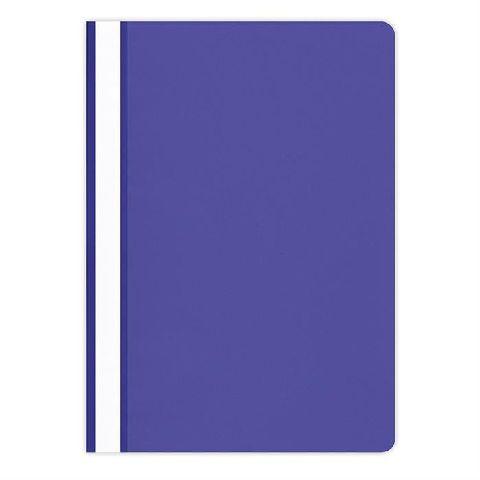 Dosar plastic A4,cu sina,albastru
