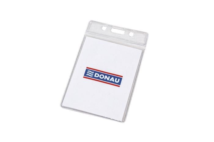 Ecuson vertical Donau,62x83mm,transparent