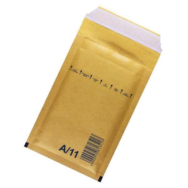 Plic protectie antisoc,120x175mm, maro