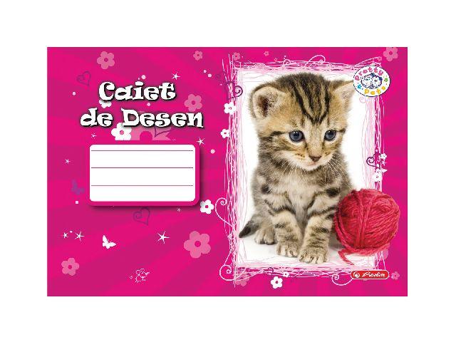 Caiet desen,24file,Pretty Pets