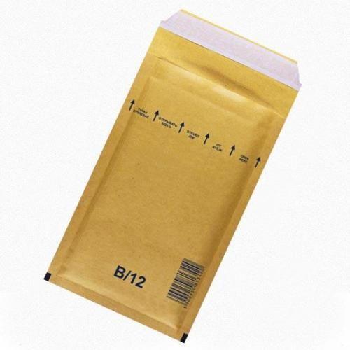 Plic protectie antisoc,140x225mm, maro