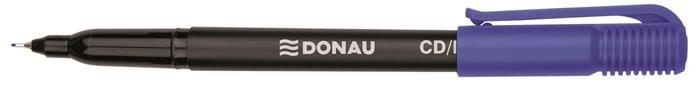 Marker pt CD Donau,0.5mm,albastru