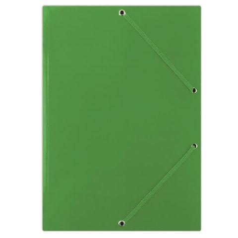 Mapa cu elatic A4,carton,verde