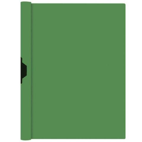 Dosar cu clip metalic A4,verde