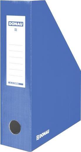 Suport documente Donau,8cm,caton,albastru