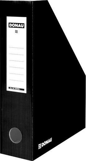 Suport documente Donau,8cm,caton,negru