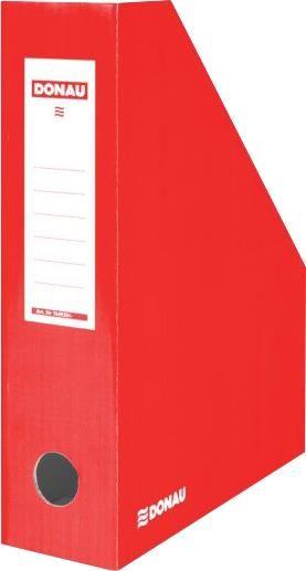 Suport documente Donau,8cm,caton,rosu