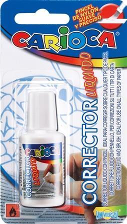 Fluid corector Carioca,13ml,aplicator pens.
