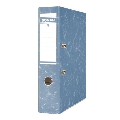 Biblioraft Eco,8cm,carton,albastru