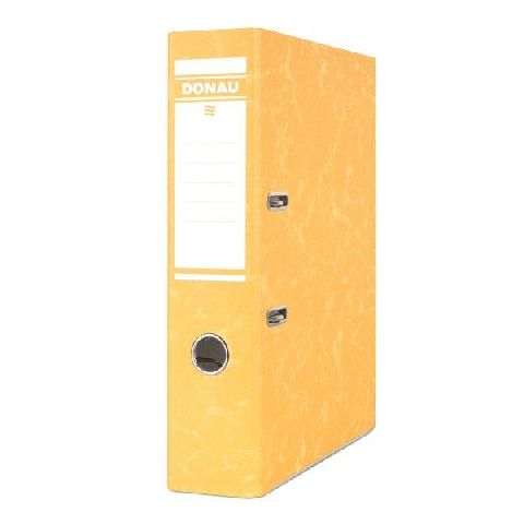 Biblioraft Eco,8cm,carton,galben