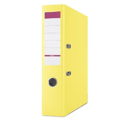 Biblioraft Basic,8cm,margine metal,galben