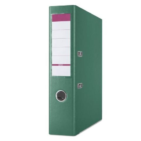 Biblioraft Basic,8cm,margine metal,verde