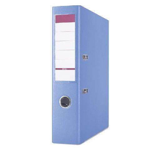 Biblioraft Basic,8cm,margine metal,albastru