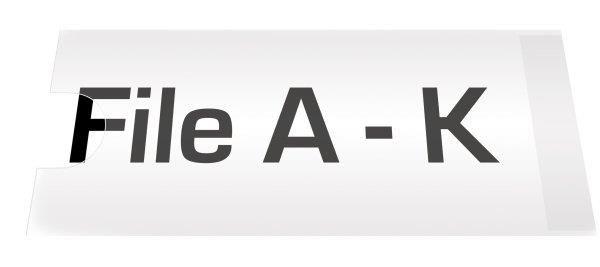 Suport eticheta,35x75mm,12 buc/set