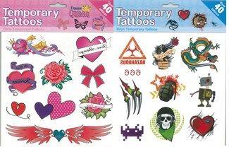 Set tatuaje provizorii,diverse modele