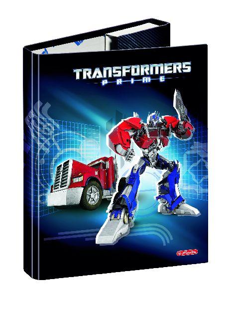Mapa A5,carton,cu elastic,Optimus Prime