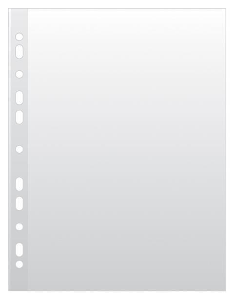File plastic A4,45microni,orange peel,50buc/set