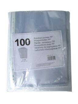 File plastic A4,42microni,100buc/set